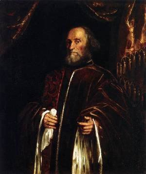 Jacopo Tintoretto (Robusti) - Portrait of a Senator 3