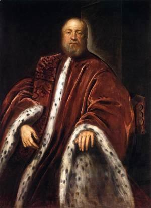 Jacopo Tintoretto (Robusti) - Portrait of a Procurator of St Mark's 2