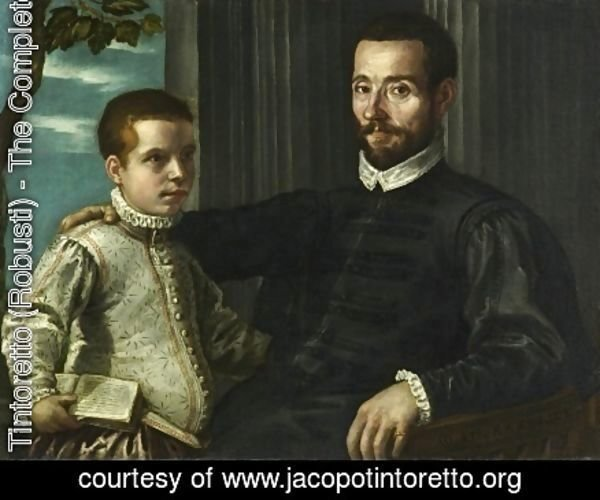 Portrait of a Nobleman with his Son