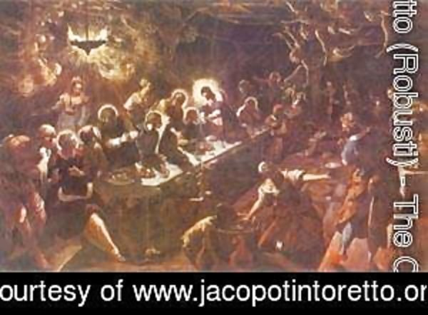 Jacopo Tintoretto (Robusti) - The Last Supper 1592-94 2