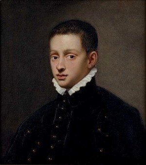 Jacopo Tintoretto (Robusti) - Portrait of a boy