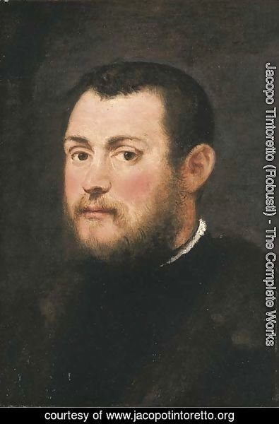 Jacopo Tintoretto (Robusti) - Portrait of a Gentleman