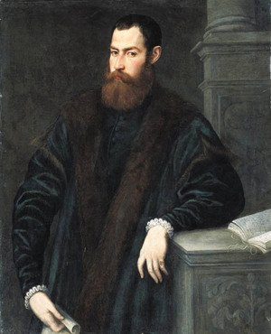 Jacopo Tintoretto (Robusti) - Portrait of a gentleman 2