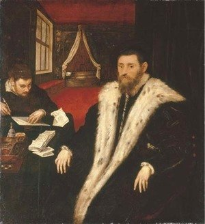 Jacopo Tintoretto (Robusti) - Portrait of a nobleman