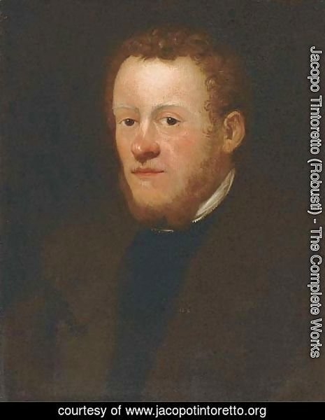 Portrait of a gentleman, bust-length