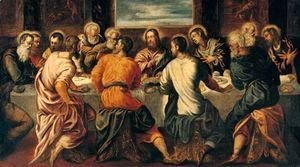 Jacopo Tintoretto (Robusti) - The Last Supper 7