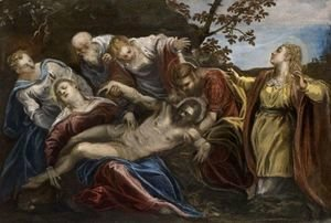 Jacopo Tintoretto (Robusti) - The Lamentation