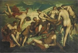 Jacopo Tintoretto (Robusti) - Le Nove Muse