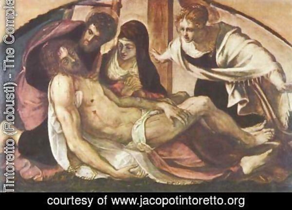 Jacopo Tintoretto (Robusti) - Lamentation of Christ