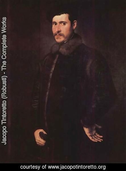 Jacopo Tintoretto (Robusti) - Portrait of a nobleman 2