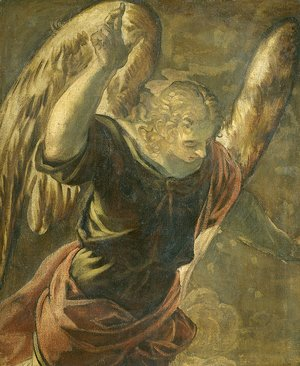 Jacopo Tintoretto (Robusti) - Annunciation the Angel