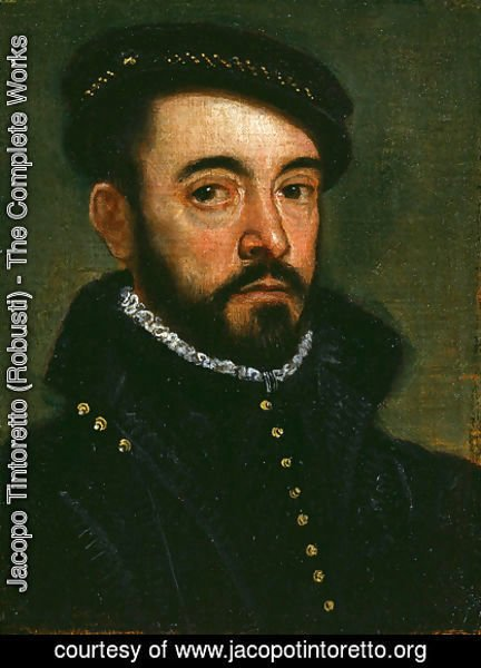Jacopo Tintoretto (Robusti) - Portrait of a Man 5