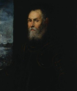 Portrait of a Venetian admiral