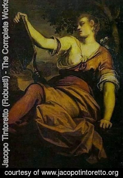 Jacopo Tintoretto (Robusti) - Allegory of Prudence