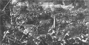 Jacopo Tintoretto (Robusti) - The Battle of Zara