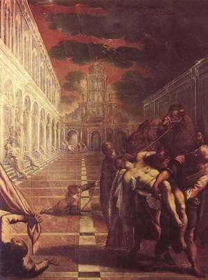 Jacopo Tintoretto (Robusti) - Recovery of the corpse of St. Mark