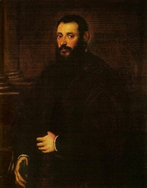 Jacopo Tintoretto (Robusti) - Portrait of Nicolaus Padavinus