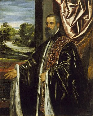 Jacopo Tintoretto (Robusti) - Portrait of a Venetian Senator 3