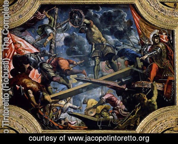 Jacopo Tintoretto (Robusti) - Galeas For Montes